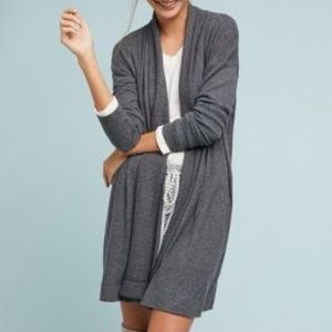 Cozy Brushed Fleece Cardigan by COA